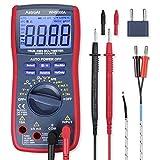 AstroAI Digital Multimeter, True RMS 6000 Counts Advanced Multimeter, messen AC/DC Spannung, AC/DC Strom, Widerstand, Kontinuität, Kapazitanz, Frequenz, Tests Dioden, Transistoren, Temperatur, Rot