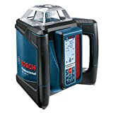 Bosch Home and Garden 0601061A00 500H + LR50 l Professional GRL H + LR 50, 500 m (Durchmesser) Arbeitsbereich mit Empfänger, Schnelllader, Transportkoffer, Schutztasche, Halterung