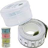 Schneider Maßband, Schneiderbandmass, Massband im Aufbewahrungsbehälter 150cm (div. Farben)