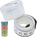 Schneider Maßband, Schneiderbandmass, Massband im Aufbewahrungsbehälter 150cm ( div. Farben )