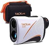 TACKLIFE Golf Laser-Entfernungsmesser für Golf & Jagd MLR02, 900 Yards Laser-Entfernungsmessung, Typ C-Aufladung, mit hochpräziser Vibrationsfunktion zur Flaggenverriegelung